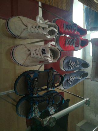 bdc258b183 Zapatillas para niño de segunda mano en Alaquas en WALLAPOP
