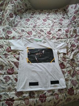 camiseta of white talla L