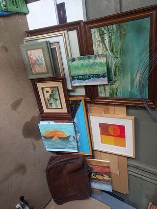 colección de cuadros