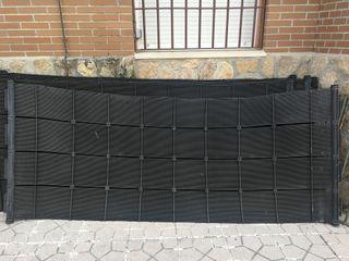 Paneles solares plásticos para calentar piscina