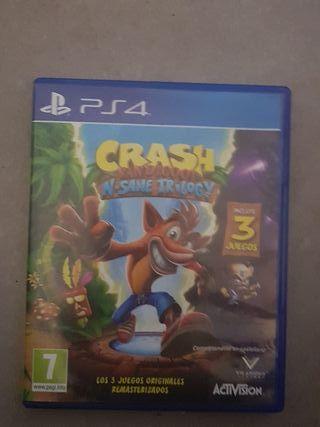 Crash juego ps4