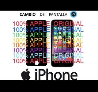 CAMBIO PANTALLAS A IPHONE (solo originales)