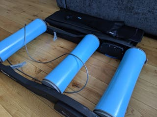 tacx galaxia rollers + trainer mat + sweat cover