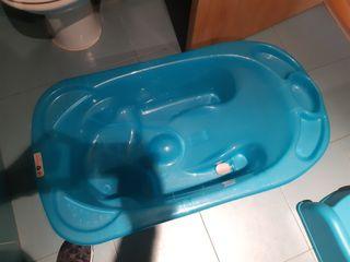 Bañera Jane color azul con patas