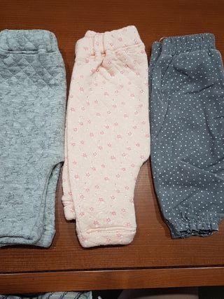lote 3 pantalones 1-3 meses