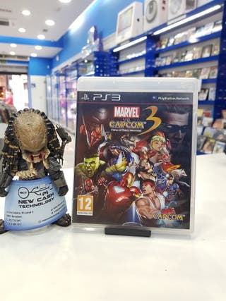 MARVEL VS CAPCOM 3 FATE OF TWO WORLDS PS3