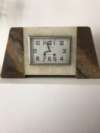 Reloj antiguo mármol años 30 Bayonne