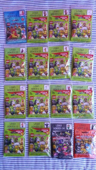 Lote Minifiguras Lego.