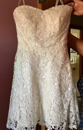 Vestido evento ideal boda civil