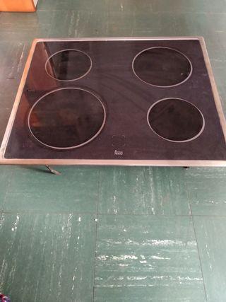 horno y placa eléctrica