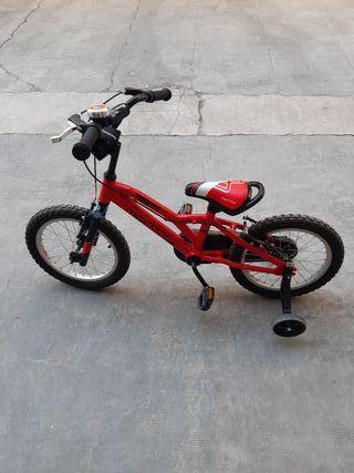 bici de niño monty