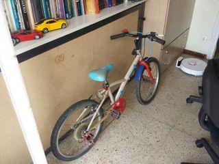 """BICICLETA INFANTIL DE 5 A 12 AÑOS LLANTA 14"""""""