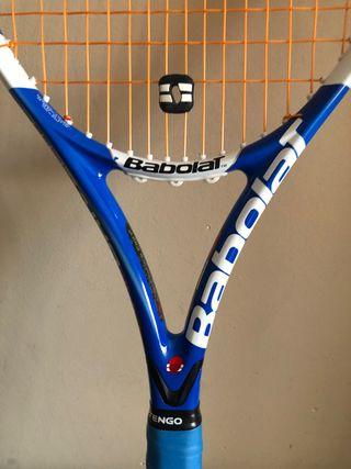 Raquetas tenis Babolat Pure Drive Lite y Artengo