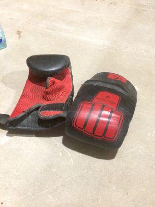guantes kick boxing