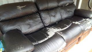 sofa 3 plazas articulado electrico