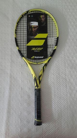 Raqueta tenis BABOLAT PURE AERO L2 NUEVA