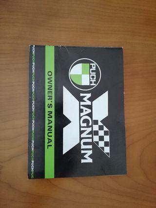 manual de instrucciones Puch Magnum