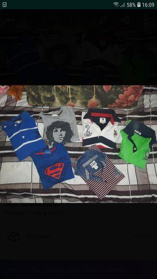 lote de camisetas niño!!!