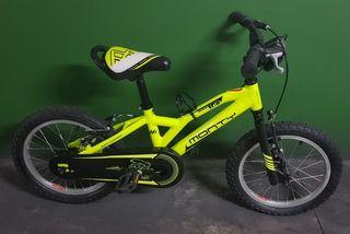 """Bicicleta Monty de 16"""""""