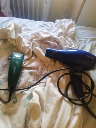 maquina cortar pelo y secador