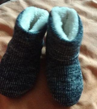 zapatos de invierno de bebé