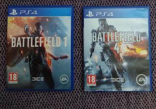 Battlefield 1 + 4 Ps4