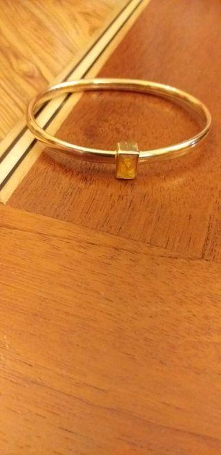 pulsera chapada en oro