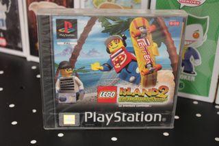 PSX - Lego Island 2 - PAL Español - PRECINTADO