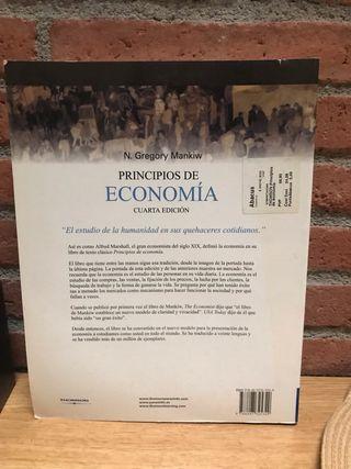 Libro Principios de la Economía