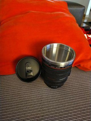 Taza termica objetivo fotografico - Nueva