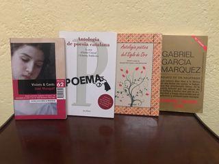 Libros literatura catalana/castellana bachillerato