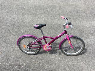 Bici niña Decatlón de 5 a 8 años