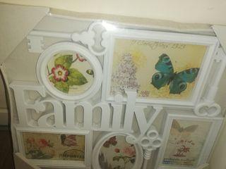 Portarretratos para familia