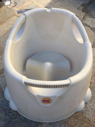 Bañera de BeBe con respaldo y asiento