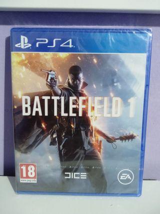 BATTLEFIELD 1 PS4 nuevo precintado
