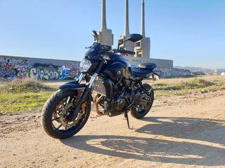 Yamaha MT07 A2 13mil km