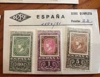 Se venden sellos españoles y extranjeros