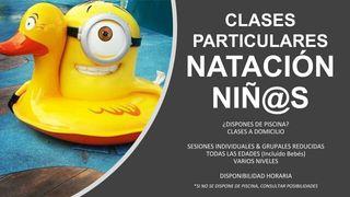 Clases Natación Niñ@s