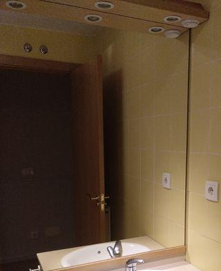 Espejo baño con halogenos