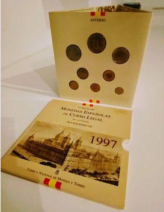 Set monedas 1997