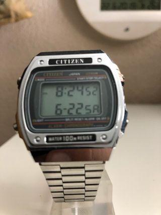 Reloj vintage Citizen digital