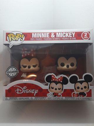 Funko pop - Minnie and Mickey
