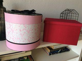 Cajas de almacenaje y decoración