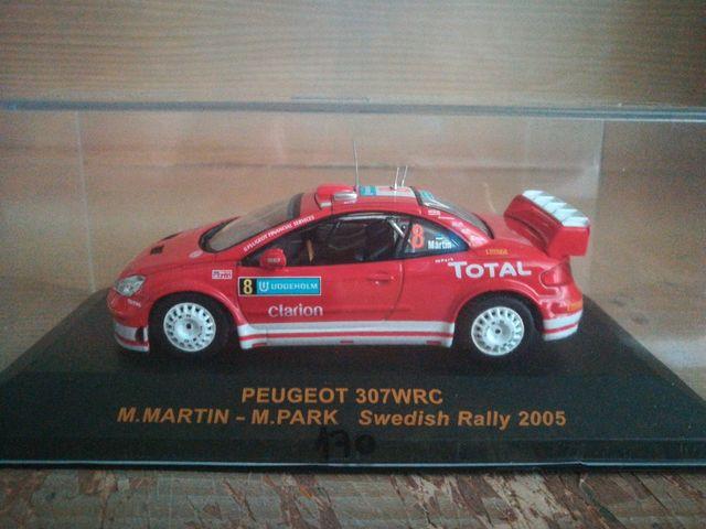 Maqueta Peugeot 307wrc