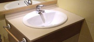 Encimera Silver Stone y lavabo