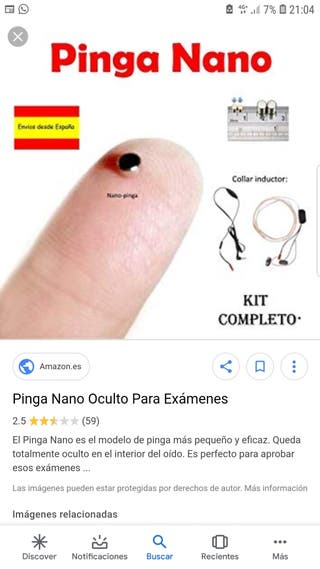 Pinganillo Micronano prov1