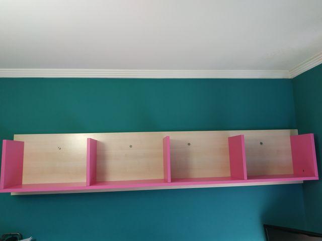Librería aérea dormitorio juvenil