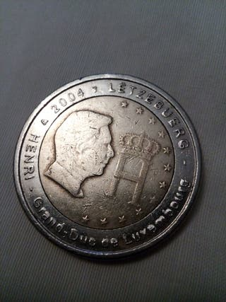 Moneda 2 euros Luxemburgo 2004