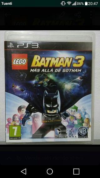 videojuego infantil batman lego para PS3