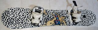 Snowboard Rossignol RPM 155 + Flow Pro model